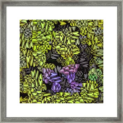 Abstract 1 Framed Print by Gabour Demans