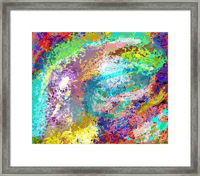 Abstract 1 Framed Print by Karl  Bortscheller