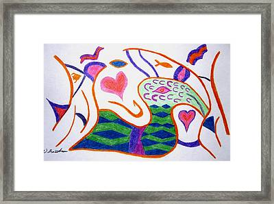 Abstract 1 Framed Print by Will Boutin Photos
