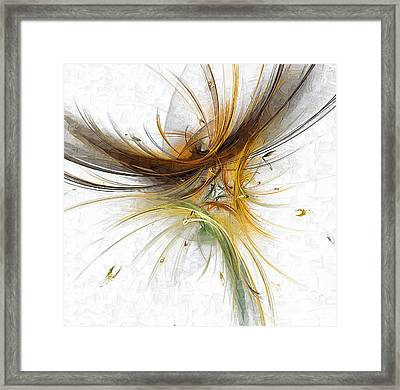 Abstract 100 Marucii Framed Print