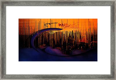 Abstract 1001 Framed Print by Gerlinde Keating - Galleria GK Keating Associates Inc