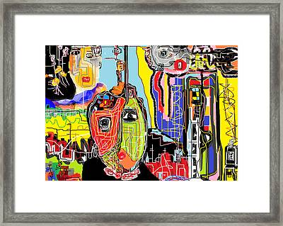 Abstract 101 Framed Print