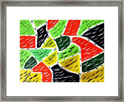 Abstract 101 Framed Print by Will Boutin Photos