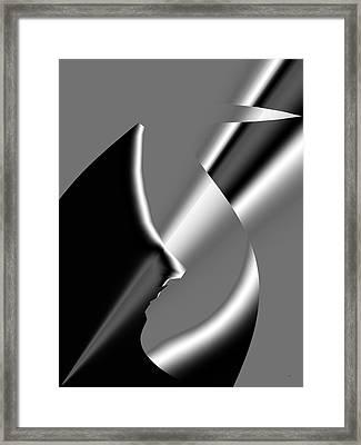 Abstract 1010  Framed Print by Gerlinde Keating - Galleria GK Keating Associates Inc
