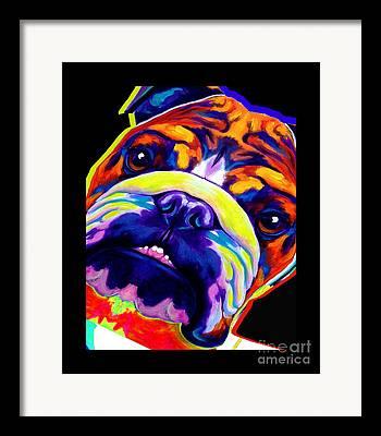 Dawgart Mixed Media Framed Prints