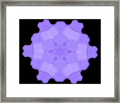 Abstract 103 Framed Print by J D Owen