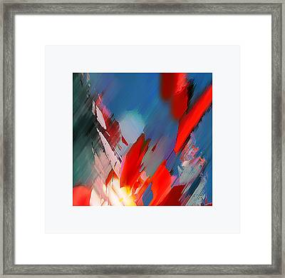 Abstract 11 Framed Print by Anil Nene