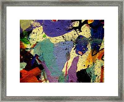 Abstract 11 Framed Print by John  Nolan