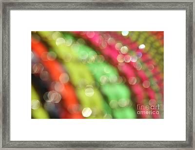 Abstract 11 Framed Print by Tony Cordoza