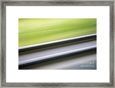 Abstract 12 Framed Print by Tony Cordoza