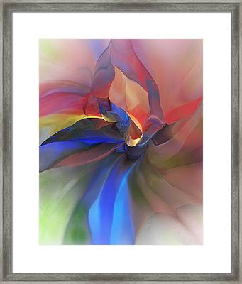 Abstract 121214 Framed Print by David Lane