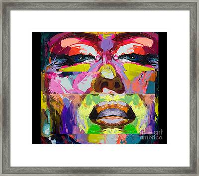 Abstract 12.14.2014..05 Framed Print