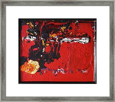 Abstract 13 - Dragons Framed Print
