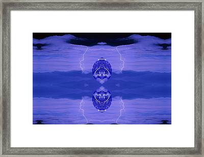 Abstract 132 Framed Print by J D Owen