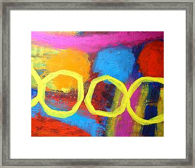 Abstract 13614 Framed Print