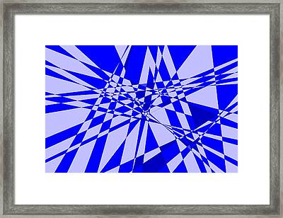 Abstract 152 Framed Print by J D Owen