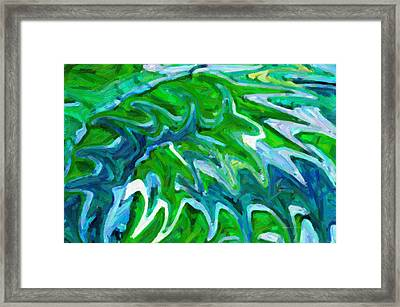 Abstract 16 Framed Print by Kenny Francis