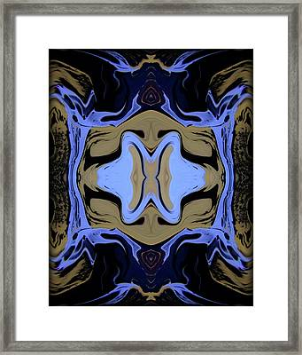Abstract 161 Framed Print by J D Owen