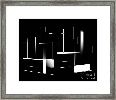 Abstract 162-2014 Framed Print