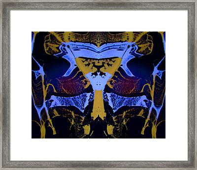Abstract 163 Framed Print by J D Owen