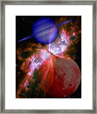 Abstract 168 Framed Print