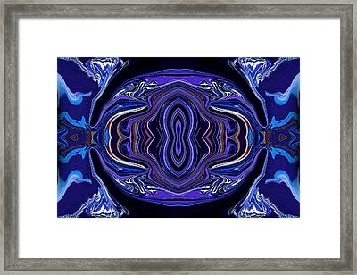 Abstract 172 Framed Print by J D Owen