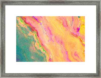 Abstract 18 Framed Print by Craig Gordon