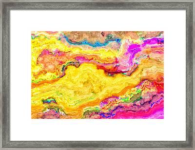 Abstract 19 Framed Print by Craig Gordon