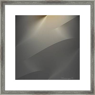 Abstract 2-0-13-s Framed Print by Ines Garay-Colomba
