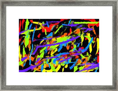 Abstract 2 Framed Print by Chris Butler