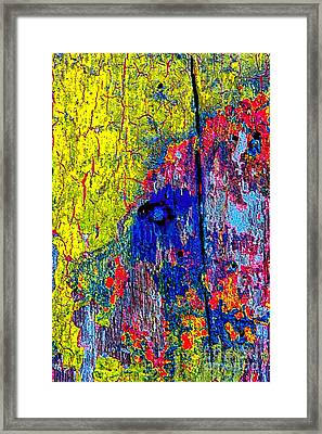 Abstract 201 Framed Print