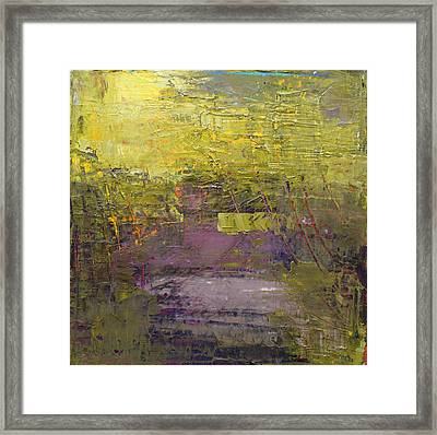 Abstract 2014 03 Framed Print