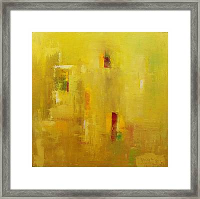 Abstract 2015 01 Framed Print