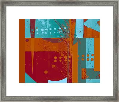 Abstract 203 Framed Print by Ann Powell