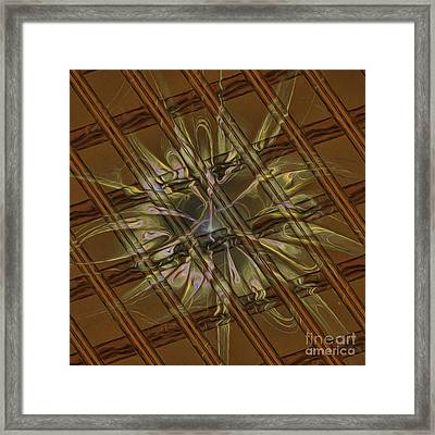 Abstract 2152015 Framed Print by Deborah Benoit