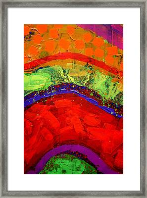 Abstract 23614 Cropped II Framed Print by John  Nolan