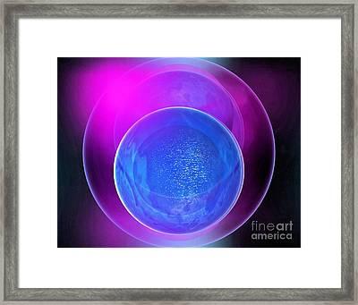 Abstract 250-2014 Framed Print by John Krakora
