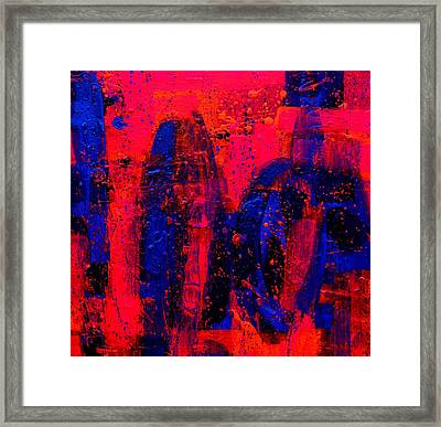 Abstract 28115 Framed Print by John  Nolan