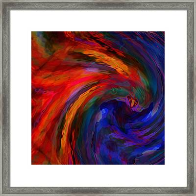 Abstract 29012013 - 042 Framed Print by Stuart Turnbull