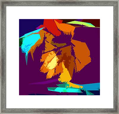 Abstract 3-2013 Framed Print by John Lautermilch