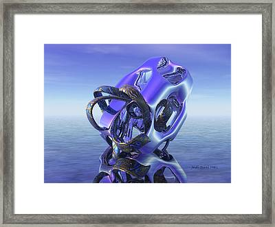 Abstract 333 Framed Print