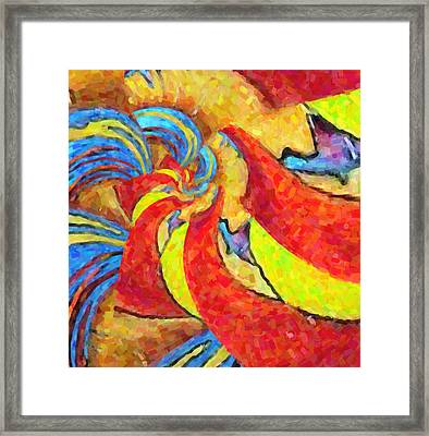 Abstract 34 Framed Print by Kenny Francis