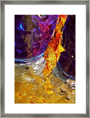 Abstract 3653 Framed Print by Stephanie Moore