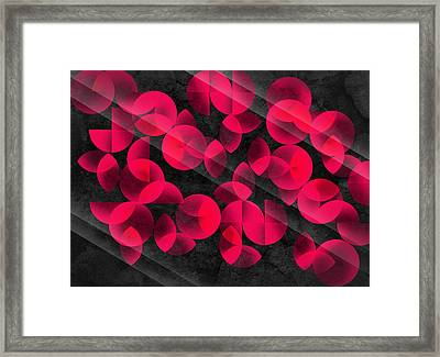 Abstract 4  Framed Print