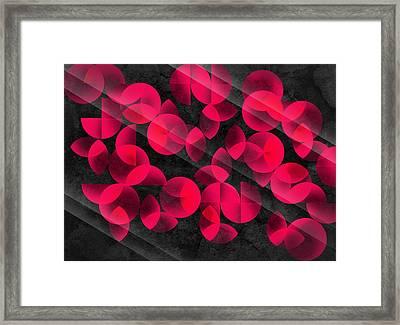 Abstract 4  Framed Print by Mark Ashkenazi