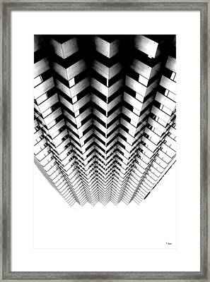 Abstract 4 Framed Print by Thomas Leon