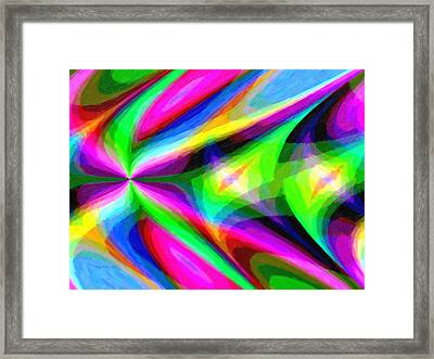 Abstract 45 Framed Print by Kenny Francis