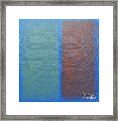 Abstract 45 Framed Print by Patrick J Murphy