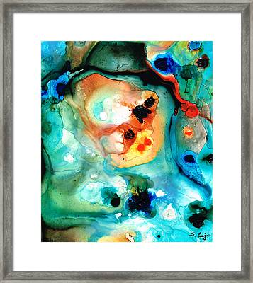 Abstract 5 - Abstract Art By Sharon Cummings Framed Print by Sharon Cummings