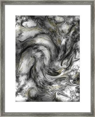 Abstract 62614 Framed Print by Daniel Mowry